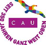 Logo des Universtätsjubiläums: Seit 350 Jahren ganz weit oben